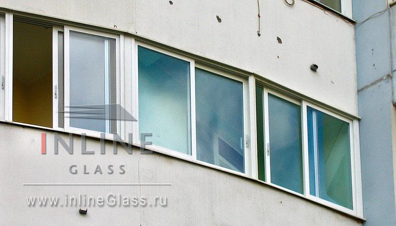 Раздвижное остекление балконов.