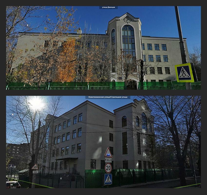 Остекление общеобразовательной школы на ул.Двинцев 10